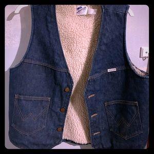 Vintage 1970's Wrangler vest